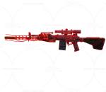次世代 3D模型 枪 现代时尚冲锋枪