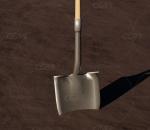 PBR铲子 工兵铲 工具 铁锹
