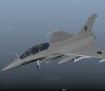 阵风法国战斗机 达索四代半通用型战斗机 舰载幻影2000战斗机