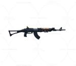 次世代 3D模型 枪 ak47冲锋枪