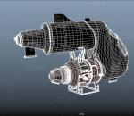 蒸汽朋克科幻先进飞机 摩托机 未来飞艇 概念飞行器 未来飞行工具