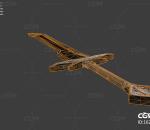 PBR次时代科幻大刀 武器 冷兵器