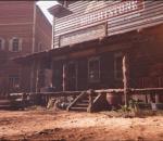 西部沙漠小镇 美国 中世纪 南北战争 戈壁 酒吧 夜晚 矿场 矿山 动态昼夜交替 牛仔