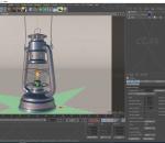 油灯 PBR 次世代 煤油灯 柴油灯 马灯 复古灯具 照明灯 写实 精模