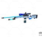 次世代 3D模型 枪 未来高科技巴雷特狙击枪