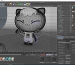 小猫卡通 女孩 拟人 IP 形象 吉祥物 猫咪