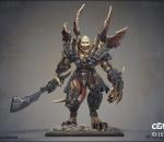 PBR 高品质 怪兽 人型动物 刺客 骷髅战士 风格化
