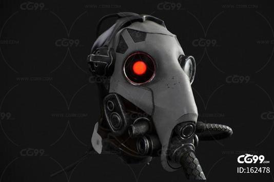 科幻面具 防毒面具 科幻头套