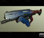 AK28 概念枪 冲锋枪 自动步枪