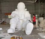 宇航员 太空人 航天员 玻璃钢模型 雕塑定制