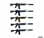 次时代 3D模型   枪  步枪  弹夹  写实