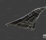 PBR次时代科幻飞船 喷气式飞机