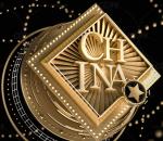 logo 栏包 几何 金色 大气 点线 背景 海报 电商 勋章 经典 科幻 科技