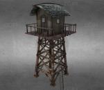 PBR-中世纪木塔 瞭望塔