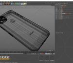 模型 手机 蓝色科技 数码 电子 智能 Apple C4D