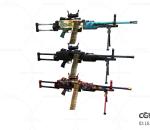 次时代 3D模型   枪  机关枪  弹夹  写实