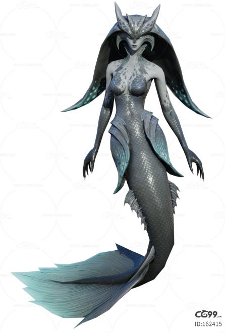 人鱼    美人鱼    海妖   鱼怪
