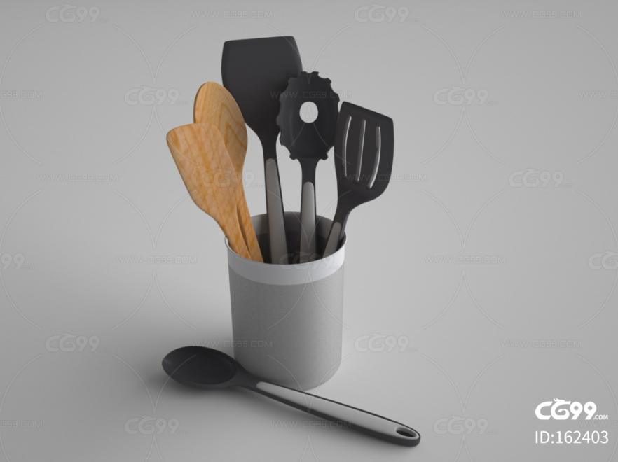 厨具 木铲 米饭铲 木勺 汤勺 打丸器 全套 厨房用品