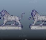 古代石狮 欧式狮子雕塑 西方狮子 卧狮 石雕欧式雕塑