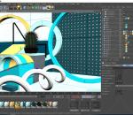 C4D电商 典雅类室内场景 科幻空间 未来 简约 海报 背景