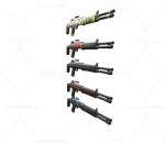 次世代 3D模型 枪 时尚科幻写实散弹枪 冲锋枪