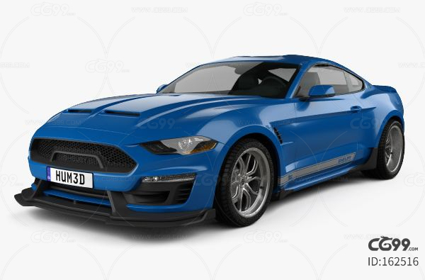 Ford Mustang Shelby Super Snake coupe 2018福特野马 汽车模