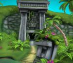 多种格式文件  玛雅人遗迹 卡通场景