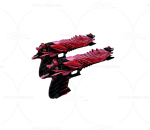 次时代 3D模型   红色手枪  弹夹  写实