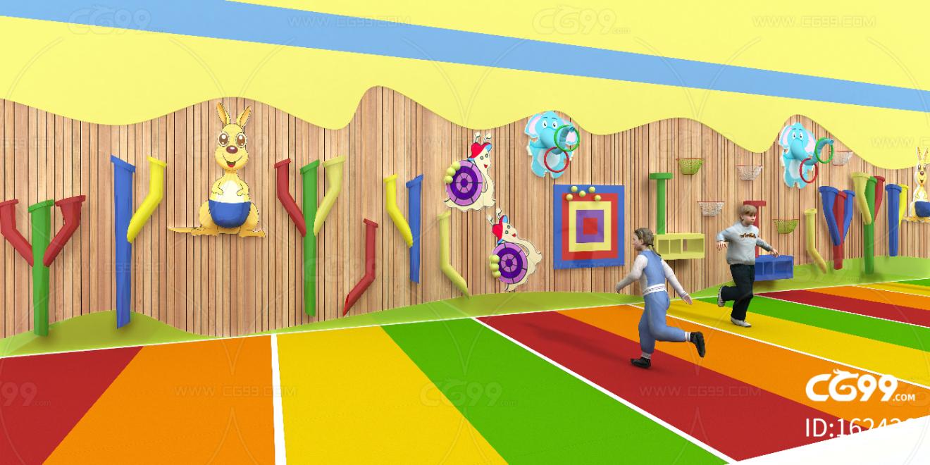 娱乐活动场所 投掷墙