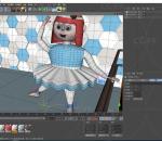 跳舞 卡通女孩 卡通女人 卡通女生 芭蕾舞 绑定 木偶女 传裙子女人 舞蹈学生 舞蹈老师 IP Q版