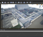 UE4 地编 关卡 工业厂区 化工厂 工厂 破旧厂房 工业设备 工业区 破旧工厂集装箱新工业厂区