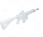 次世代 3D模型 枪 写实便携冲锋枪