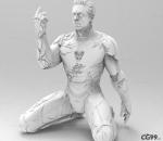 钢铁侠 漫威 响指 手办模型 可打印