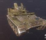 二战坦克 M19自行高炮 自行防空炮 多管火炮 美国