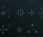 ue4 高质量科幻材质  准星 墙面 虚幻4
