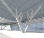 站前 西广场 商业 综合体 设计 现代 车站 广场
