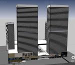 青岛 CBD 万达 万达广场 现代商业综合体 现代购物中心