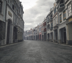 广东骑楼 骑楼老街 海南骑楼 骑楼 岭南建筑 欧式建筑 民国街道 北京路 上下九 古镇 老商业街