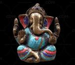 甘尼萨雕像 大象佛像