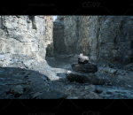 UE4 采石场悬崖