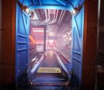 科幻城市中心套件