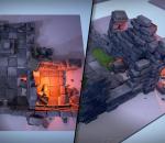 ue4 地牢残骸 古代神话组件 古代遗迹 关卡 门洞 砖块 虚幻4
