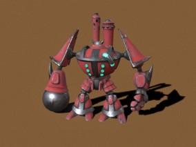 次世代 高科技机器人 游戏角色 pbr带贴图 3d模型