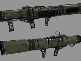 科幻军事武器 道具 火箭发射器