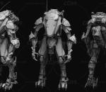 士兵 电子人 科技 科幻 未来战士 未来机甲 铠甲战士 人物 角色