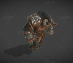 【带动画】次世代牛头战士 牛头人酋长 牛魔王 牛头怪 怪物 妖怪