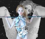 史诗级北欧女神魔法少女通用格式fbx