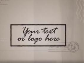 复古明信片视频模板AE