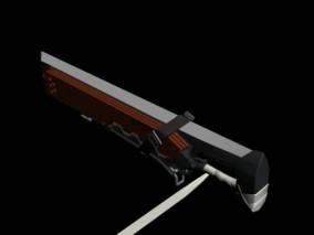 时尚 现代 高级模型 z恶装备角色 摩多武器 3d模型