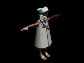 时尚 现代 高级模型 z恶装备角色 萨基 3d模型